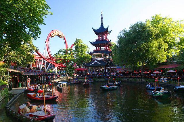 Tivoli Bahçeleri - Kopenhag Turu